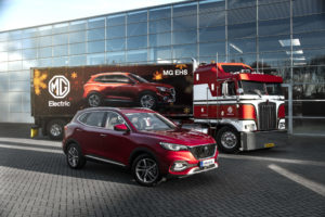 MG EHS and Christmas Truck teaser press release picture